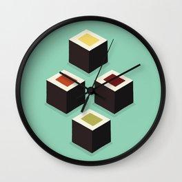Cubic Maki Wall Clock