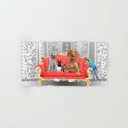 Pet Animals Baroque Couch - Dog - Cat - Bunny - Squirrl Hand & Bath Towel