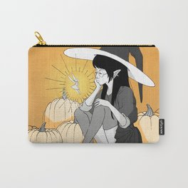 the gigantic witch and the little fairy Carry-All Pouch