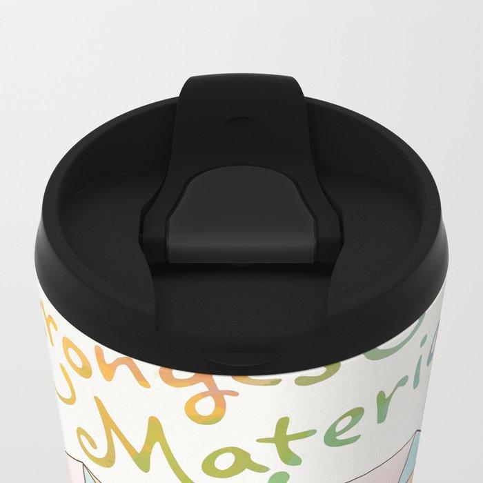 The Strongest Material Metal Travel Mug