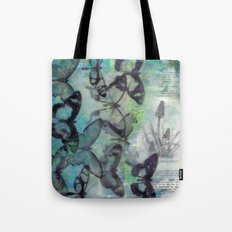 Butterfly Migration Tote Bag