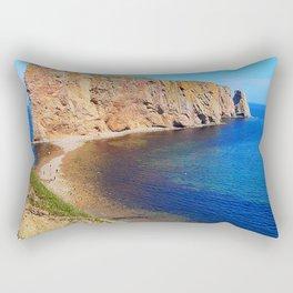 Percé Rock Gaspésie  Rectangular Pillow