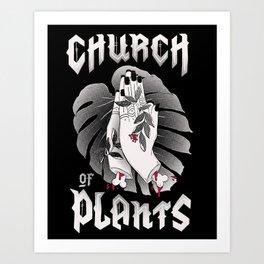 Church of Plants Art Print