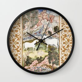 Turkish Plate during the second half of 16th century Wall Clock