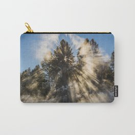An Explosion of Sunlight Left Me Awestruck! Carry-All Pouch