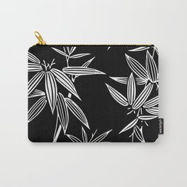 White Bamboo Carry-All Pouch