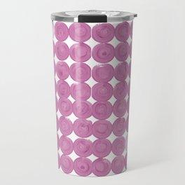 Pinker dot dot pink dot small Travel Mug