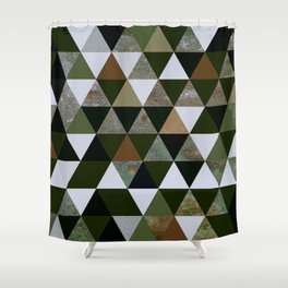 Abstract #344 Shower Curtain