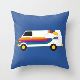 Dream Machine Throw Pillow