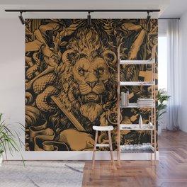 Lion Wall Mural