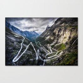 Trollstigen, Norway. Canvas Print