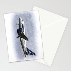Tarom Airbus A318 Art Stationery Cards