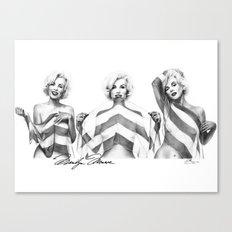 Monroe Trio Canvas Print