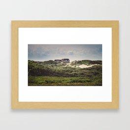 Stella, les dunes Framed Art Print