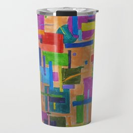 RainbowDoodles Travel Mug