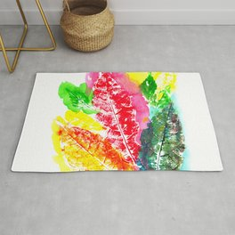 The Leaves Rug