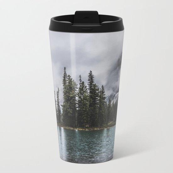 Contains in fog Metal Travel Mug