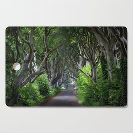 Dark Hedges, Northern Ireland. Cutting Board
