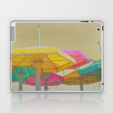 Beach Umbrellas Laptop & iPad Skin