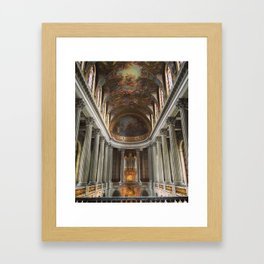 Looking Up at Chateau Versailles Framed Art Print