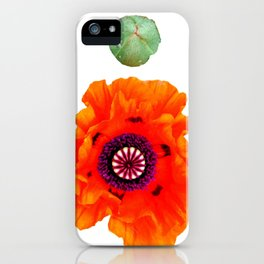 Orange et grrr iPhone Case