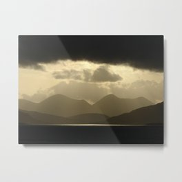 Red Cuillins, Isle of Skye, Scotland Metal Print