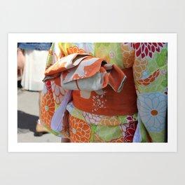 Yukata Art Print