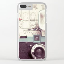 Snapshots Clear iPhone Case