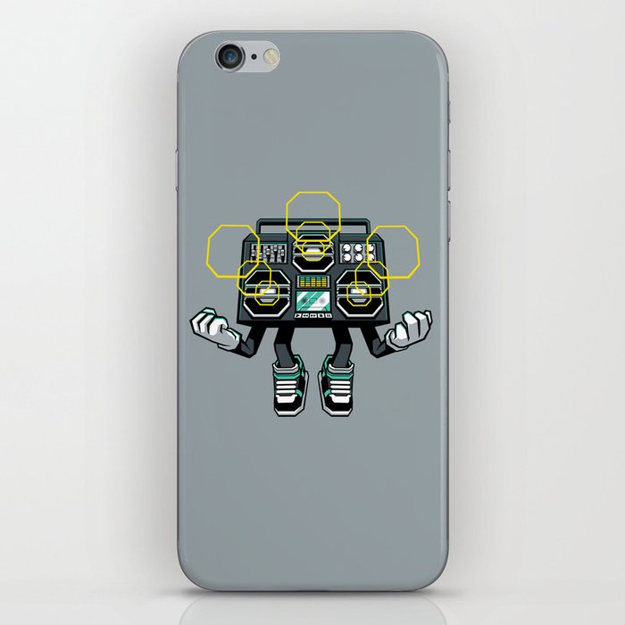 Rise And Amplify iPhone Skin