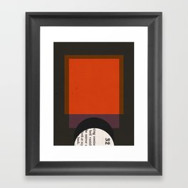 Eject Framed Art Print