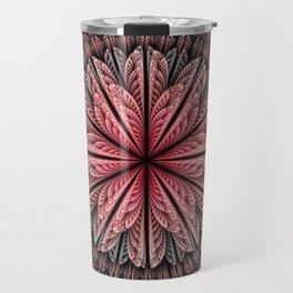 Fantasy flower and petals Travel Mug