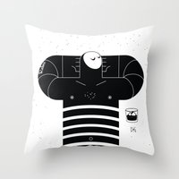 relax Throw Pillows featuring relax by GAELDORGERE