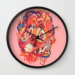 Head (Alternate) Wall Clock