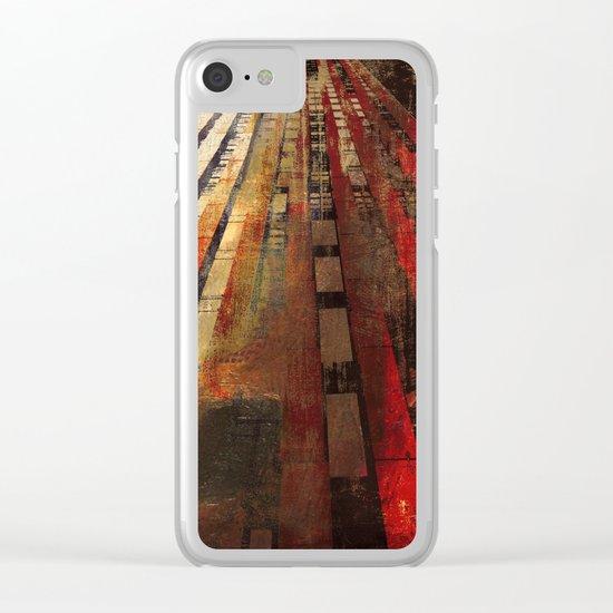 Underground Path Clear iPhone Case