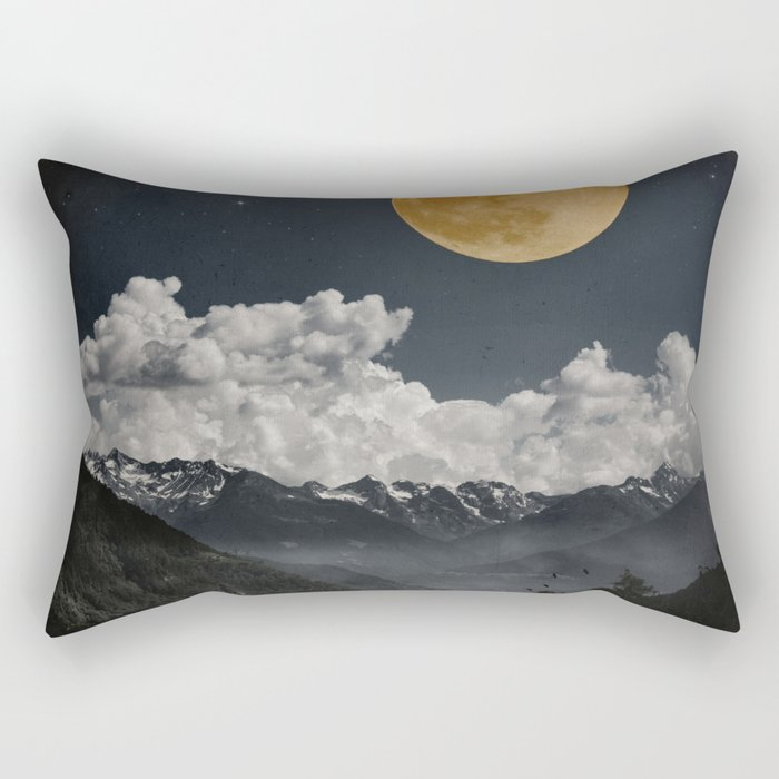 Moon Melodies Rectangular Pillow