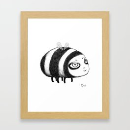 Fly, Bumblebee, Fly! Framed Art Print