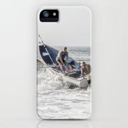 Get a leg up iPhone Case
