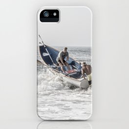 Get a leg up iPhone Case