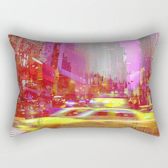 Moving to New York  Rectangular Pillow