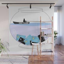 Gone Phishing Wall Mural