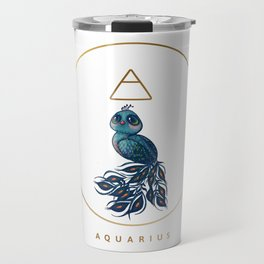 Baby Aquarius - The Baby Zodiac Collection Travel Mug