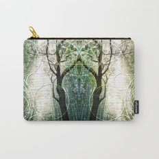 Bamboo Forest Geometry Carry-All Pouch
