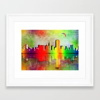 san francisco Framed Art Prints featuring San Francisco  by mark ashkenazi