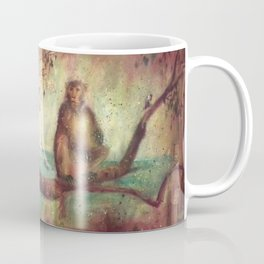 Indian monkeys. Macacos. Animals Coffee Mug