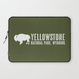 Bison: Yellowstone National Park Laptop Sleeve