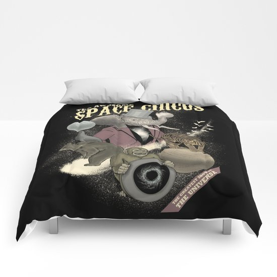The awesome space circus Comforters