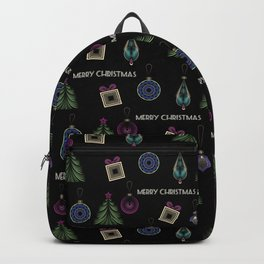 Getting ready for Christmas. Gifts! Backpack