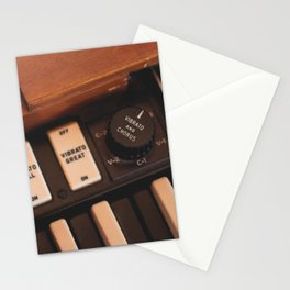 Hammond Switches / Knobs Stationery Cards