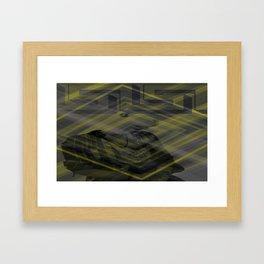 Bunny laptop  sleave Framed Art Print