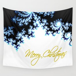 Merry Christmas, The Star of Bethleham Will Lead Them Wall Tapestry